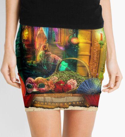 The Curious Library Calendar - March Mini Skirt