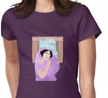 Empress In sari Womens Fitted T-Shirt