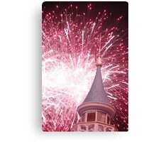 Firework from Fantasyland Walt Disney World Canvas Print