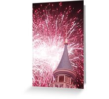 Firework from Fantasyland Walt Disney World Greeting Card