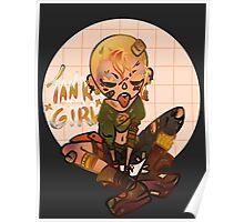 TANK GIRL ROCKS Poster