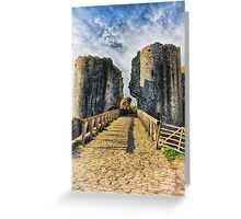 Castle Crossing Greeting Card