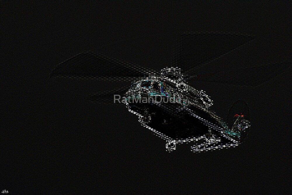 Sikorsky S-92 Helicopter — Hovering Overhead by RatManDude