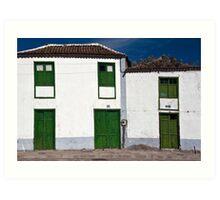 Santiago del Teide Art Print