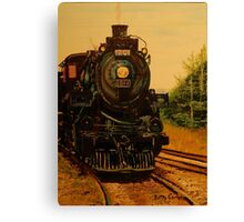 Morning CP Engine 1201 Canvas Print