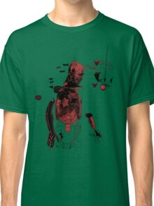 love and gravity - black and red version Classic T-Shirt