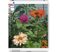 Flowers in Mo's garden 1 iPad Case/Skin