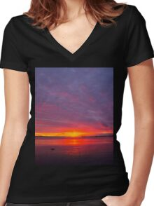Beautiful Phenomenon Women's Fitted V-Neck T-Shirt