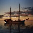 Failie training sailing ship, Port Vincent SA by BronReid