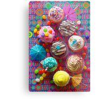 Cupcake du Jour Metal Print