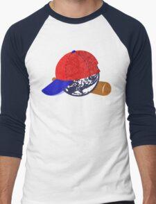 Earthbound/Mother2 Ness Men's Baseball ¾ T-Shirt