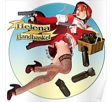 Helena Handbasket - Red Hot Riding Hood Poster