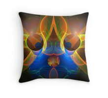 Eyes and ears Throw Pillow