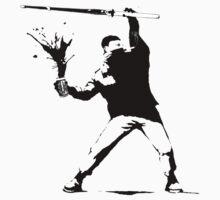 ECW The Sandman (Banksy style) by DannyDouglas96