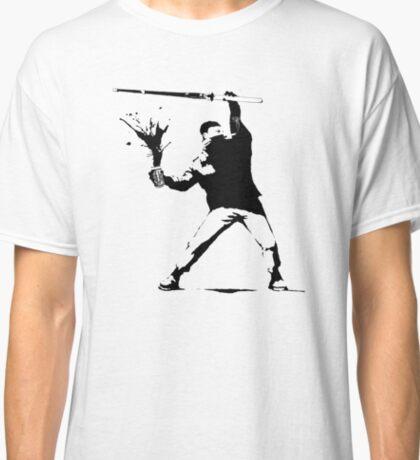 ECW The Sandman (Banksy style) Classic T-Shirt