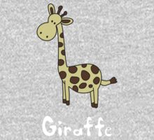 G for Giraffe One Piece - Long Sleeve