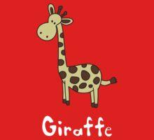 G for Giraffe One Piece - Long Sleeve
