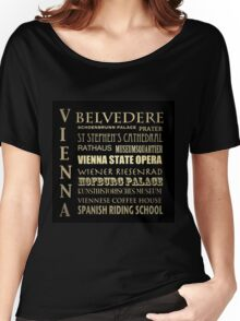 Vienna Famous Landmarks Women's Relaxed Fit T-Shirt