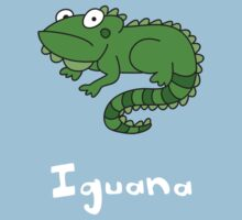 I for Iguana One Piece - Short Sleeve