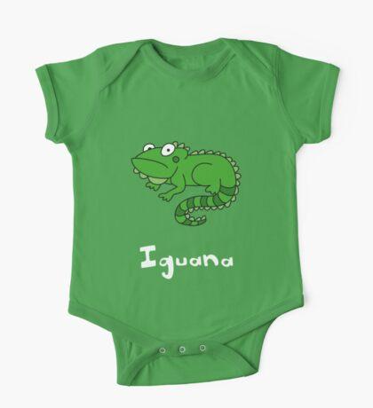 I for Iguana One Piece - Short Sleeve