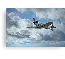 World War Two Spitfire Canvas Print