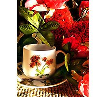 Valentine Cuppa Photographic Print