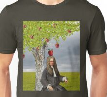Isaac Newton Apple Tree Unisex T-Shirt