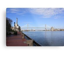 Eugene Talmadge Memorial Bridge Metal Print