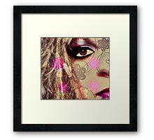 Eye See You ( self portrait) Framed Print