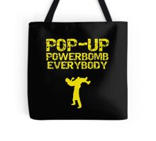 Pop - Up Powerbomb Everybody Tote Bag