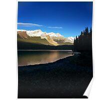 Maligne Lake, Alberta, Canada Poster