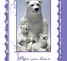 Mother's Day Card, Special Nana  by Moonlake