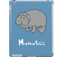 M for Manatee iPad Case/Skin
