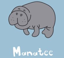 M for Manatee Kids Tee
