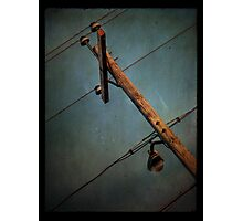 Powerpole Photographic Print