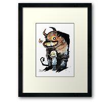 Me & My Shadow Framed Print