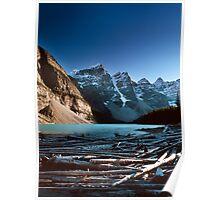 Moraine Lake, Valley of the Ten Peaks, Banff National Park, Alberta, Canada Poster