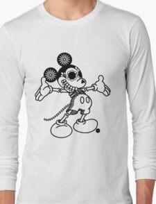 Ratón Miguelito - Black Long Sleeve T-Shirt