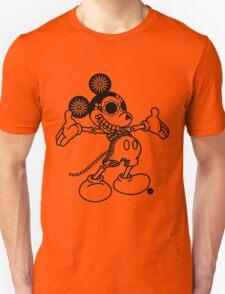 Ratón Miguelito - Black T-Shirt