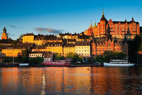 Stockholm Södermalm by Inge Johnsson