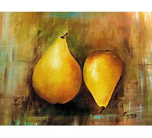 Sweet and Beautiful # 1, Acrylic painting Photographic Print