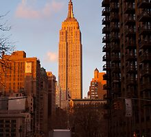 Empire State Building, NYC I by Henri Irizarri