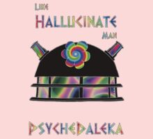 PsycheDaleka Head - Psychedelic Dalek! Kids Clothes