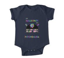 PsycheDaleka Head - Psychedelic Dalek! One Piece - Short Sleeve