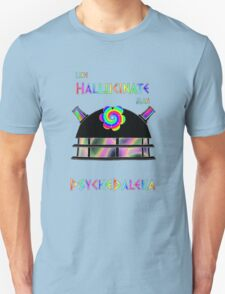 PsycheDaleka Head - Psychedelic Dalek! Unisex T-Shirt