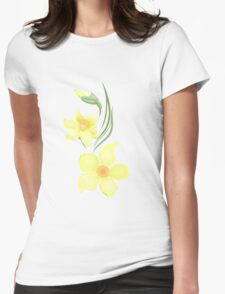 narcissi Womens Fitted T-Shirt