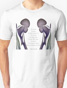 Her Vision tee w/poem T-Shirt