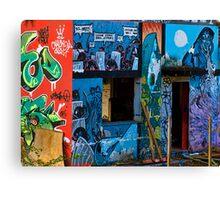 Urban Art in Monza Canvas Print