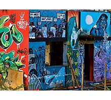 Urban Art in Monza Photographic Print