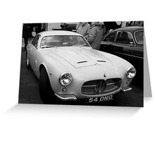 Maserati A6G Greeting Card